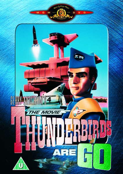 Thunderbirds Are Go The Movie Dvd Dvd Zavvi