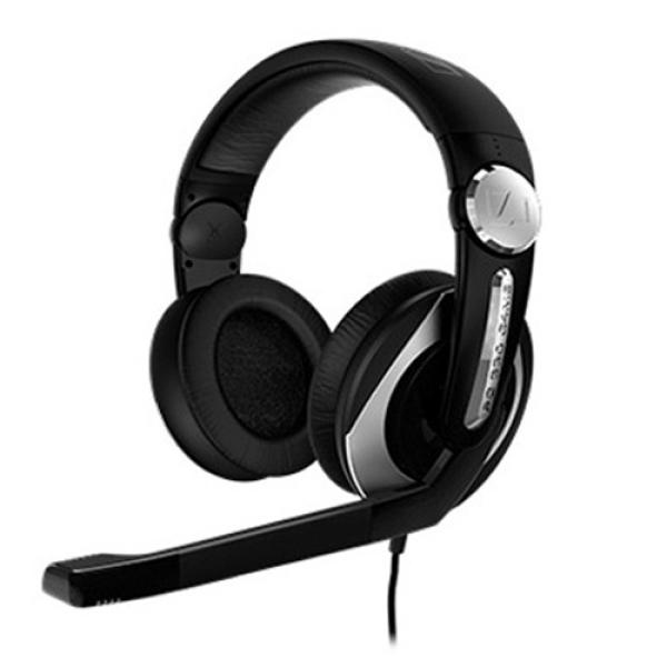 Sennheiser PC 330 Closed Over-Ear Gaming Headset with Noise Cancelling Mic - Black