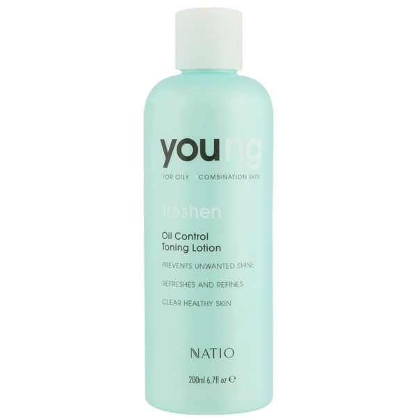 Natio Young Oil Control Toning Lotion (6.8oz)