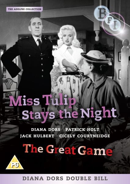 Diana Dors Double Bill: Miss Tulip Stays the Night / The Great Game