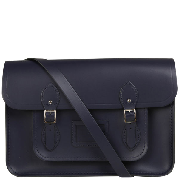 The Cambridge Satchel Company 15 Inch Leather Satchel - Navy