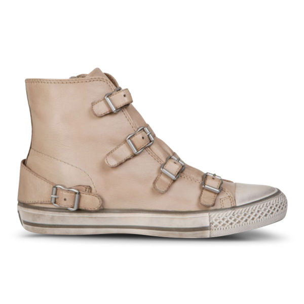 Ash Women's Virgin Leather Trainers - Clay
