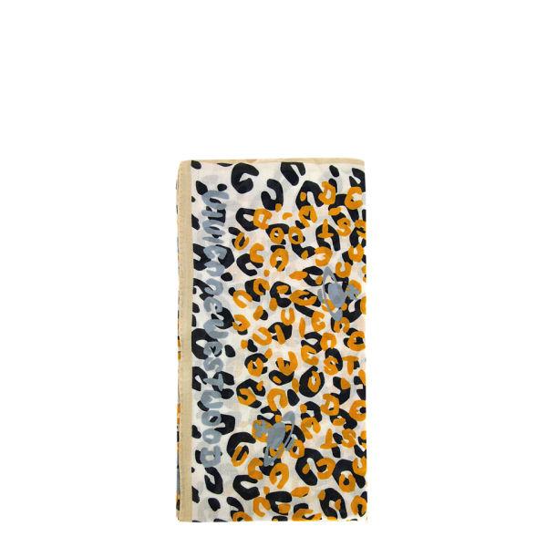 Vivienne Westwood - Accessories Women's New Leopard Scarf - Cream