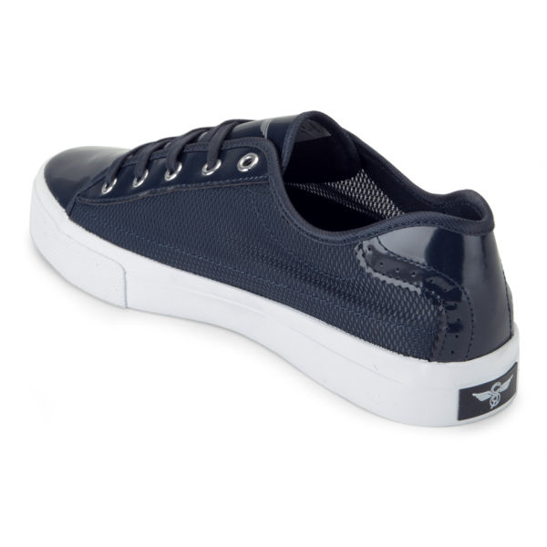 Creative Recreation Men's Kaplan Mesh Trainers - Navy: Image 5
