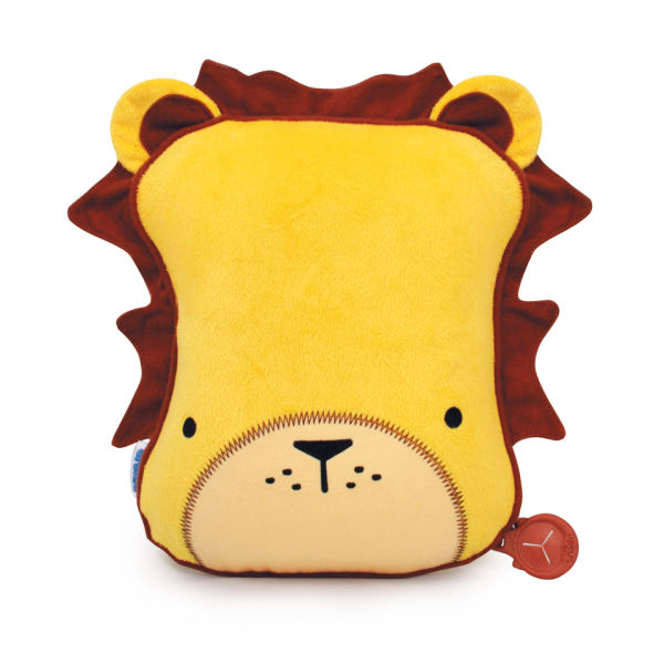 Trunki SnooziHedz Travel Pillow and Blanket - Leeroy the Lion - Yellow