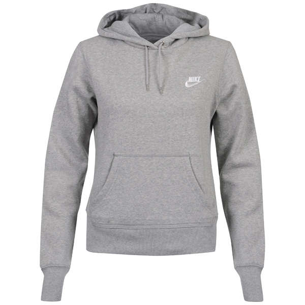 Nike Women S Hooded Sweatshirt Grey Sports Amp Leisure Zavvi