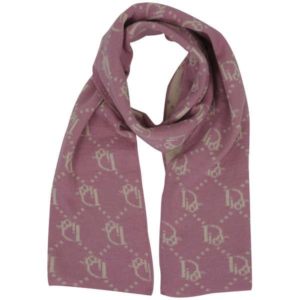 Christian Dior Women S Wool Scarf Pink