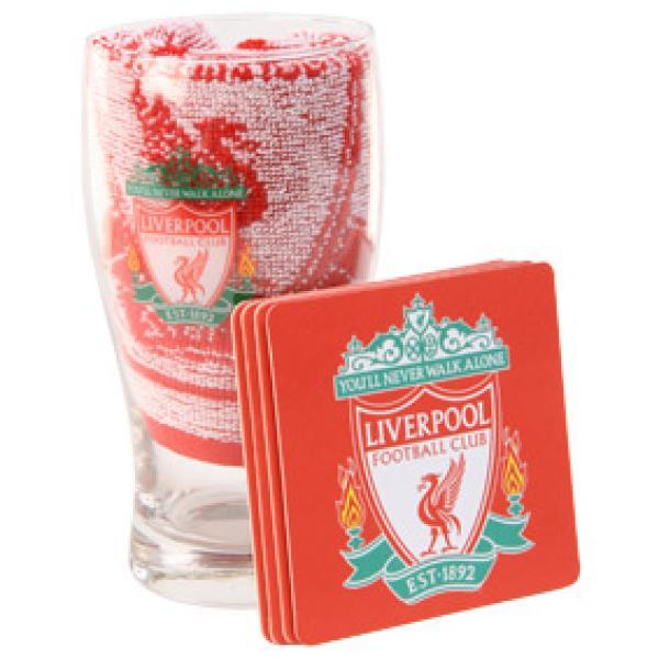 Liverpool Fc Mini Bar Set Gifts Thehut Com
