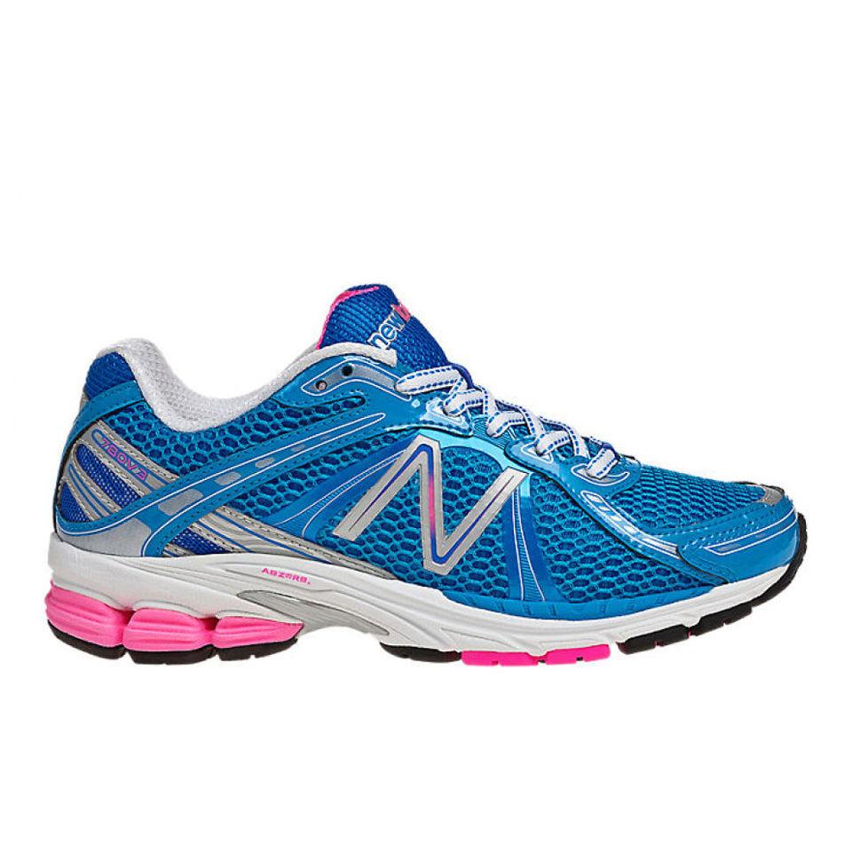 New Balance Womens W780Bw3 Neutral Running Shoes - Blue -1670
