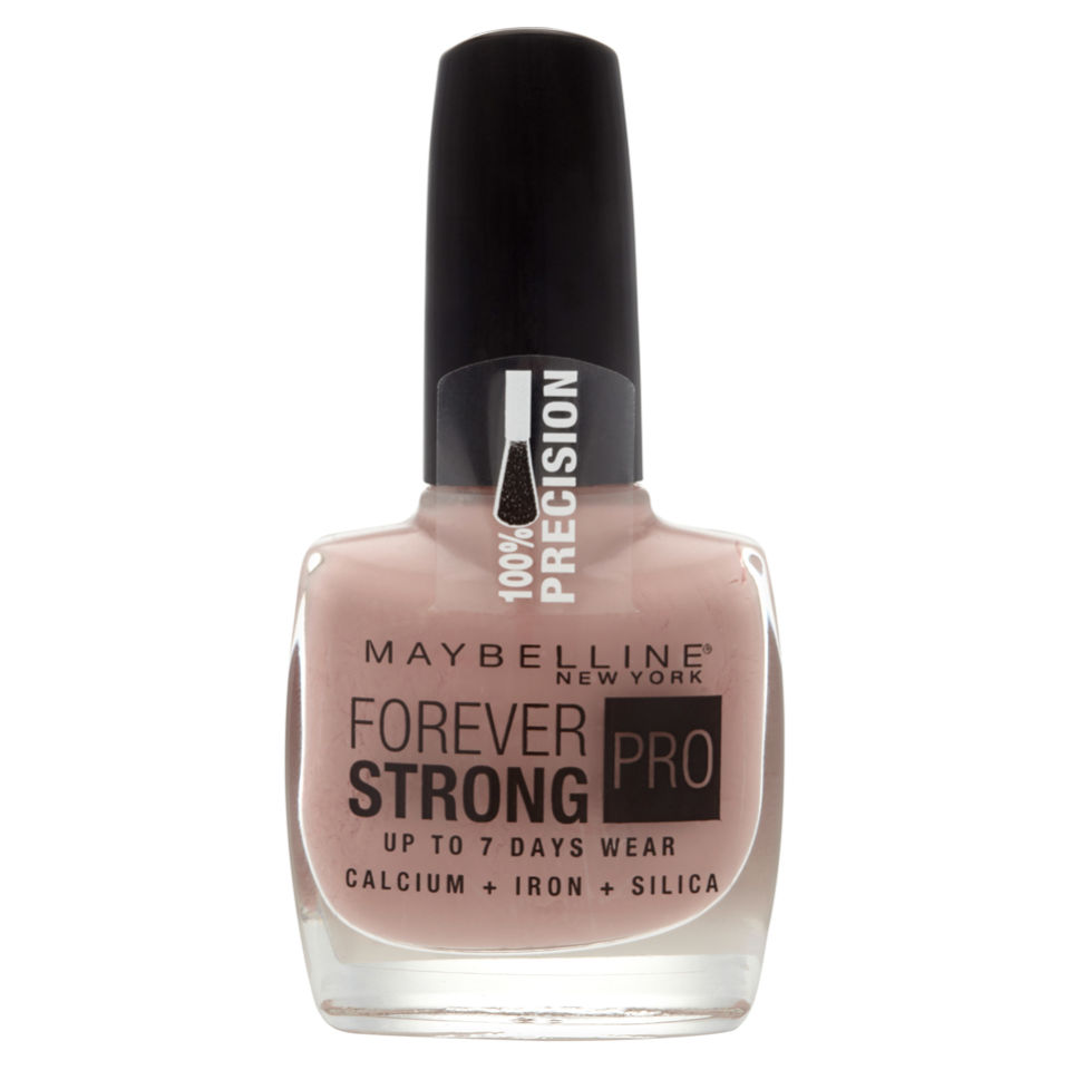 Maybelline Forever Strong Nail Varnish - Rose Poudre | Free Shipping ...