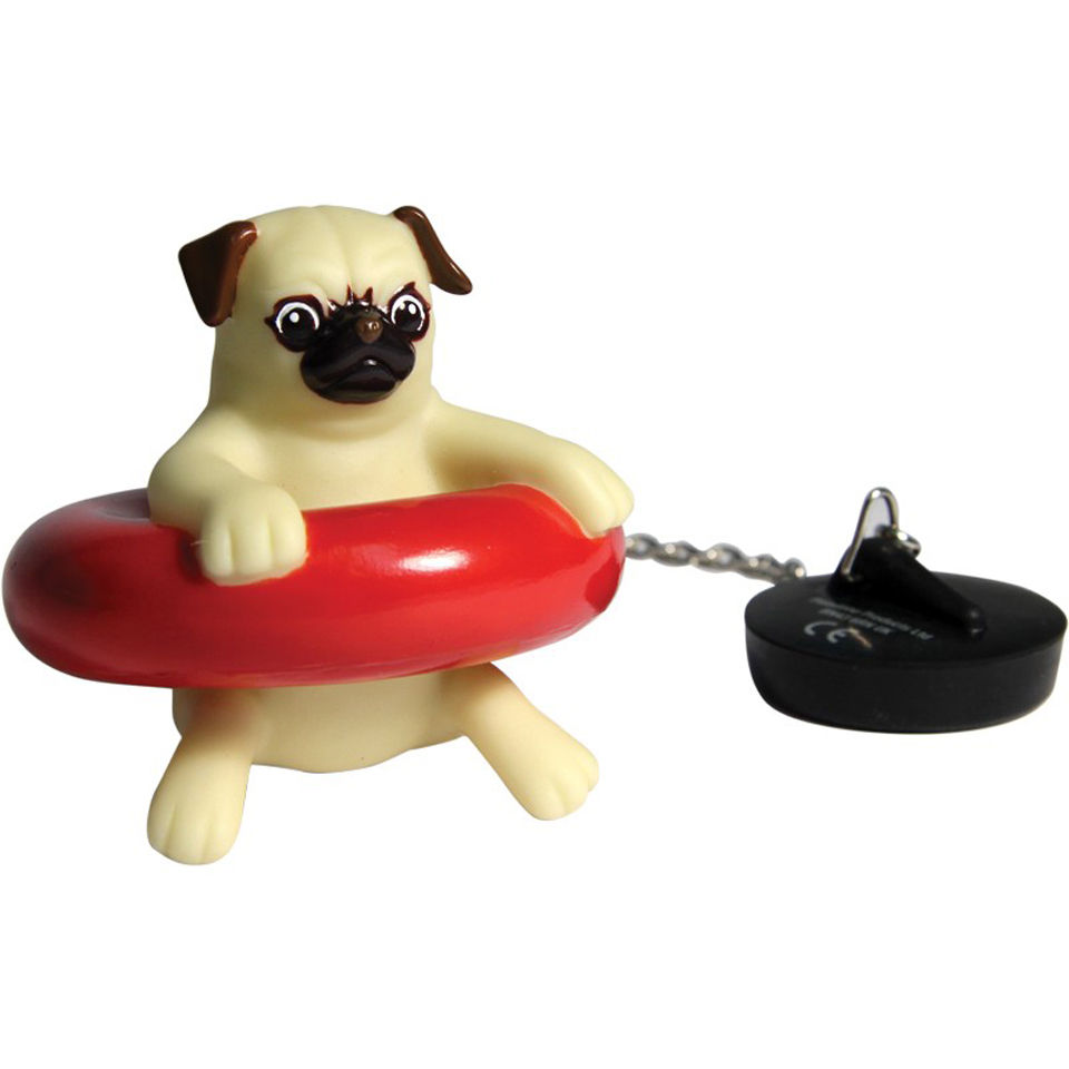 Thehut Home Office: Bath Pug Traditional Gifts