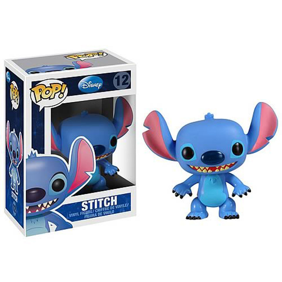 Disney Stitch Pop Vinyl Figure Merchandise Zavvi