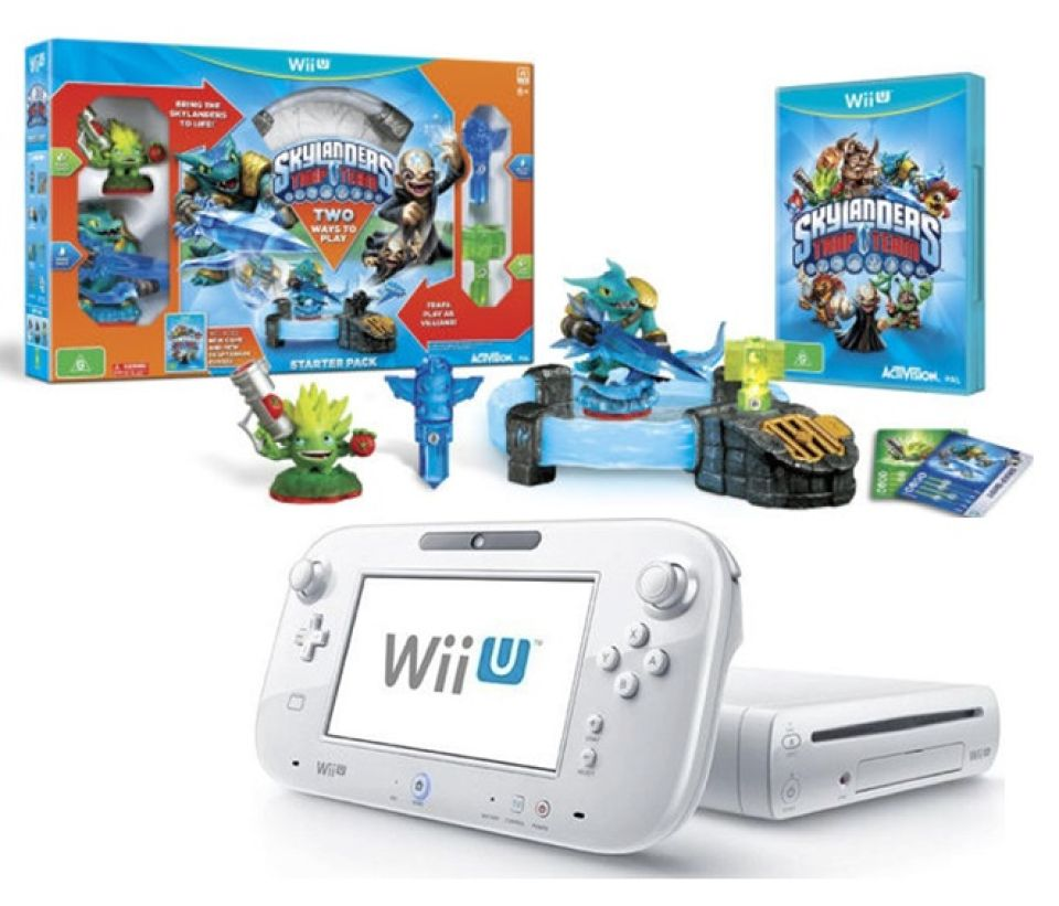 Nintendo Wii U Basic Console Includes Skylanders Trap