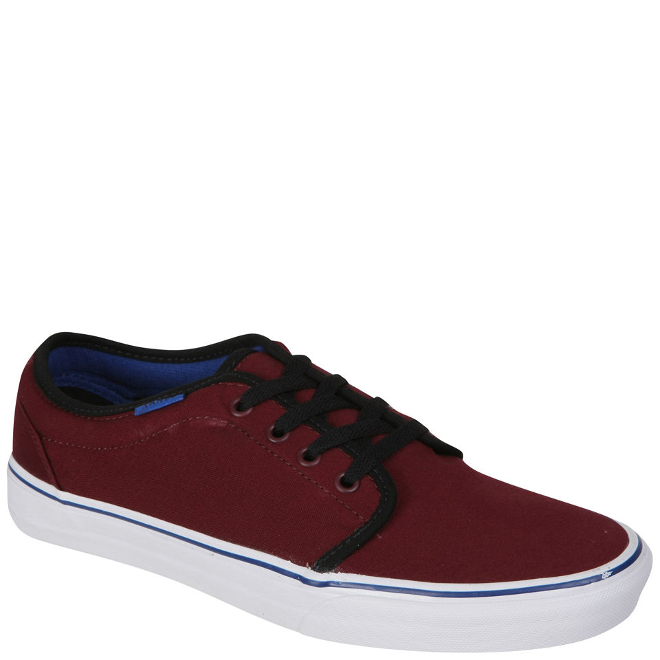 ff0016bf02 Vans 106 Vulcanized Canvas Two Tone Trainers - Port Royale Black Clothing