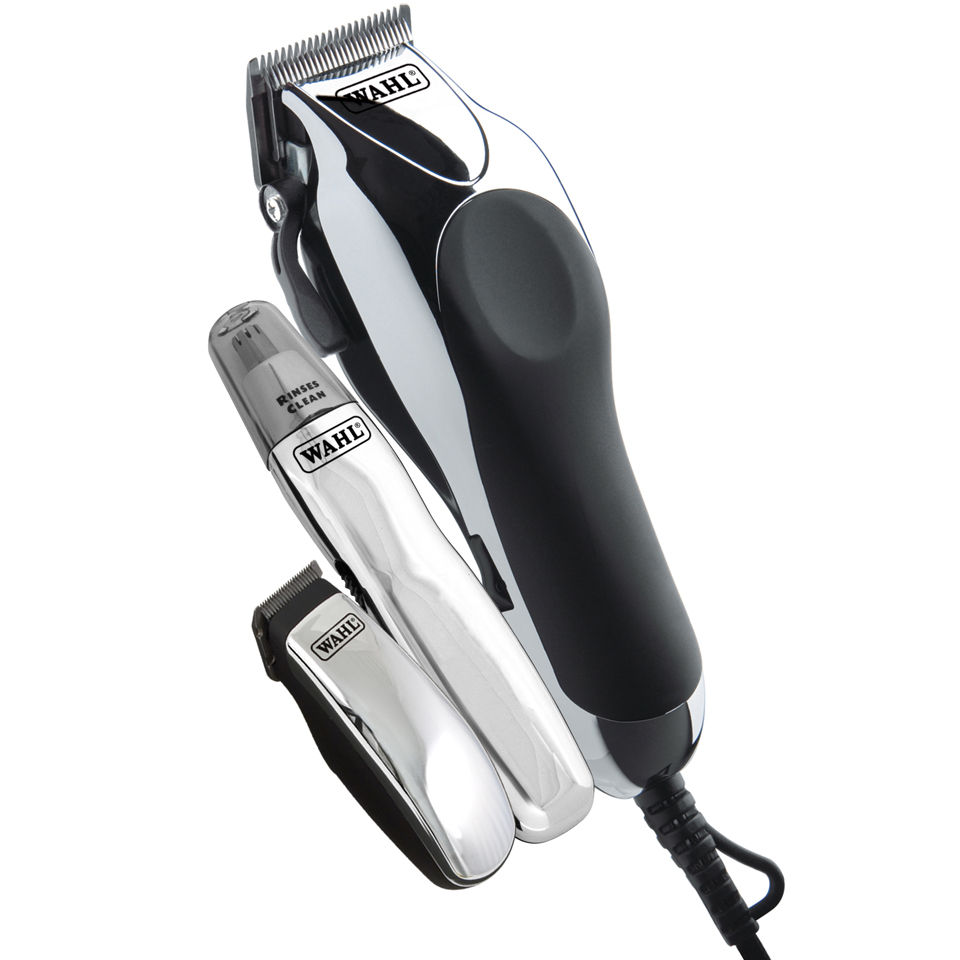 wahl deluxe chrome pro mains clipper free shipping lookfantastic. Black Bedroom Furniture Sets. Home Design Ideas