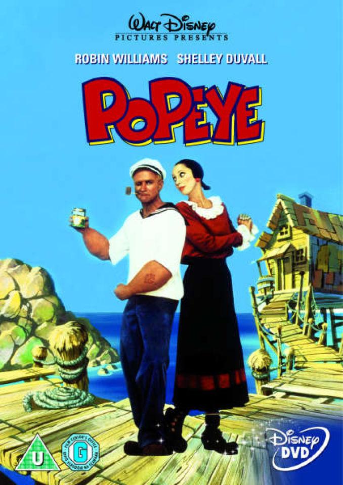 Popeye Dvd Zavvi