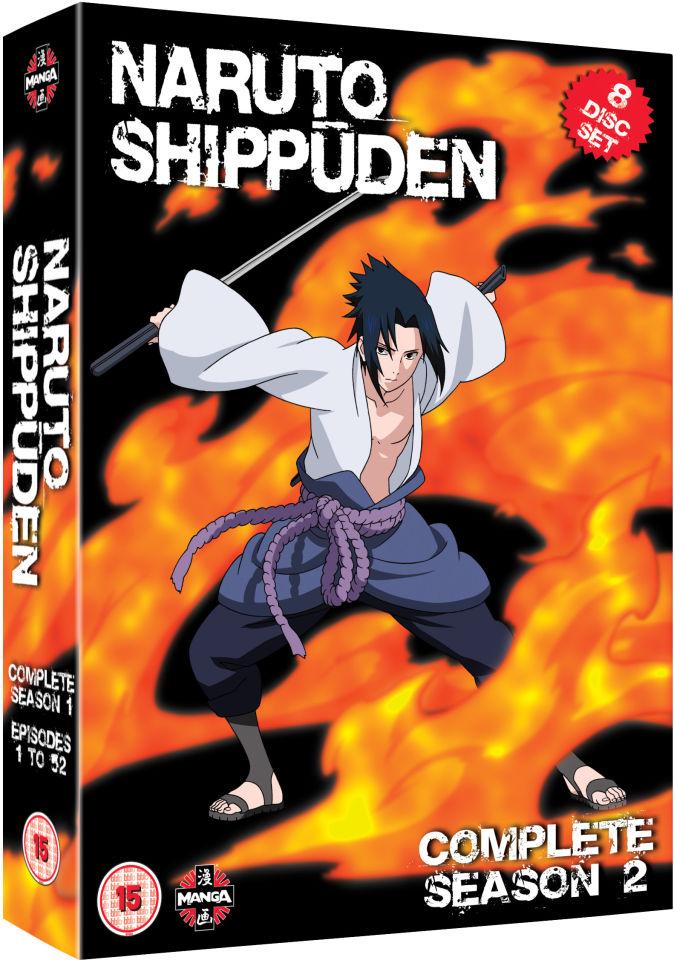 Naruto Shippuden - Complete Series 2 Box Set DVD