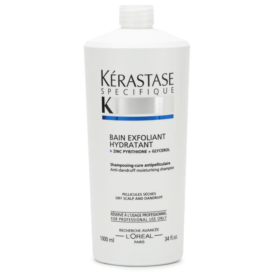 K rastase specifique bain exfoliant hydrate 1000ml with for Kerastase bain miroir reviews