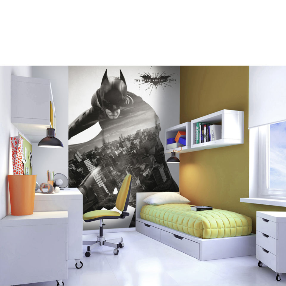 The dark knight rises official wall mural iwoot for Dark knight mural