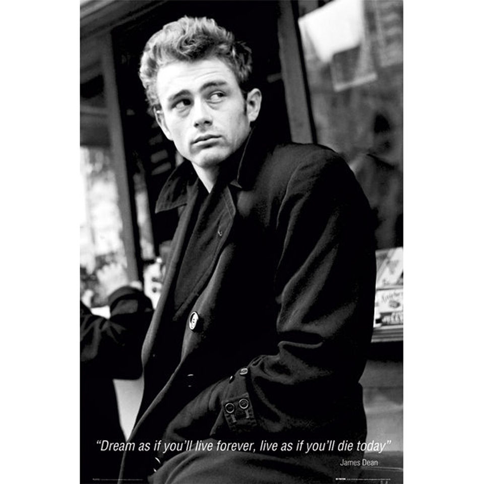 james dean dream maxi poster 61 x iwoot. Black Bedroom Furniture Sets. Home Design Ideas
