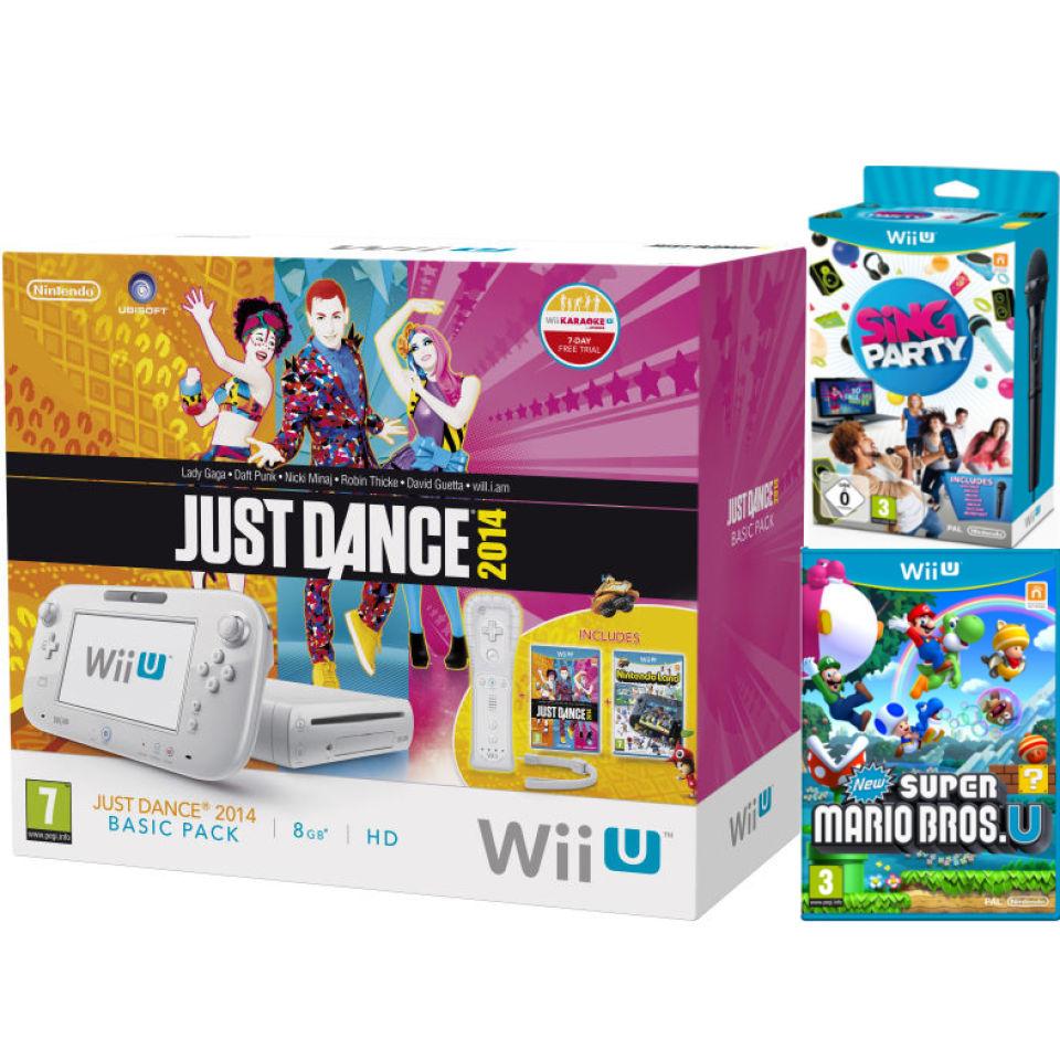 Nintendo Wii U Just Dance 2014 And Nintendo Land Bundle