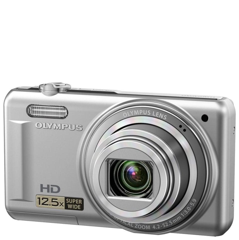 Olympus VR 320 Digital Camera 14MP 125x Super Wide Optical Zoom 3 Inch LCD