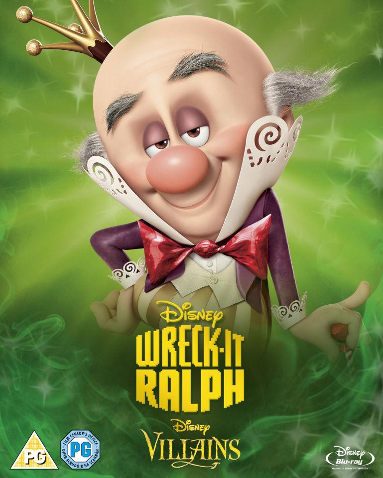 Wreck It Ralph Disney Villains Limited Artwork Edition