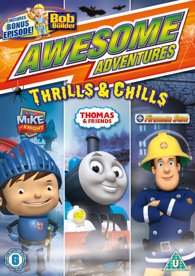 Awesome Adventures Thrills And Chills Dvd Zavvi