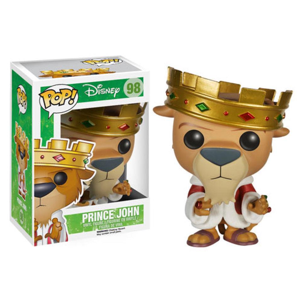 Disney Robin Hood Prince John Pop Vinyl Figure