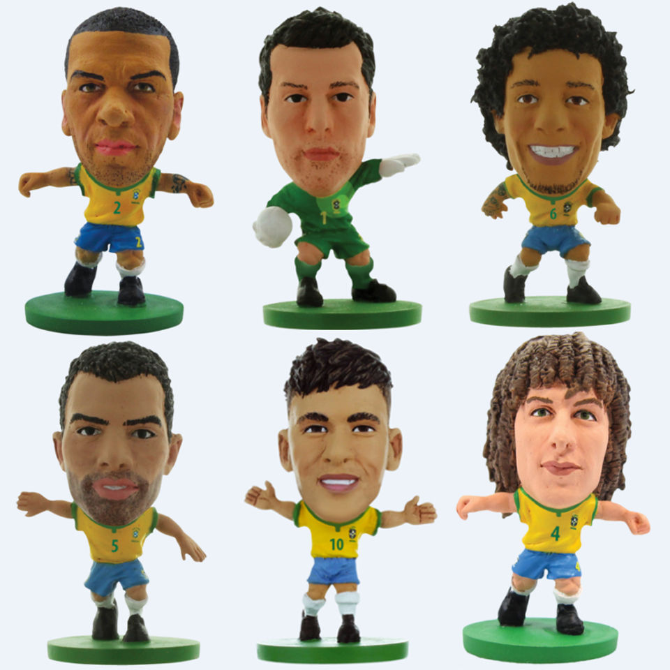 SoccerStarz - Brazil Team Player Figures | IWOOT