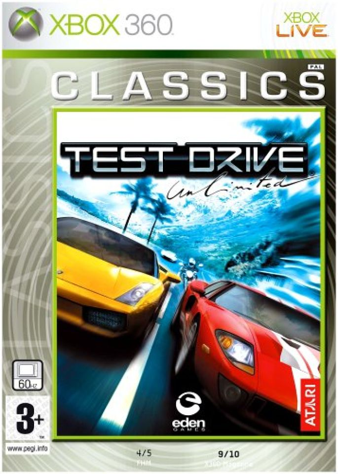 Test Drive: Unlimited for Xbox 360 GameStop