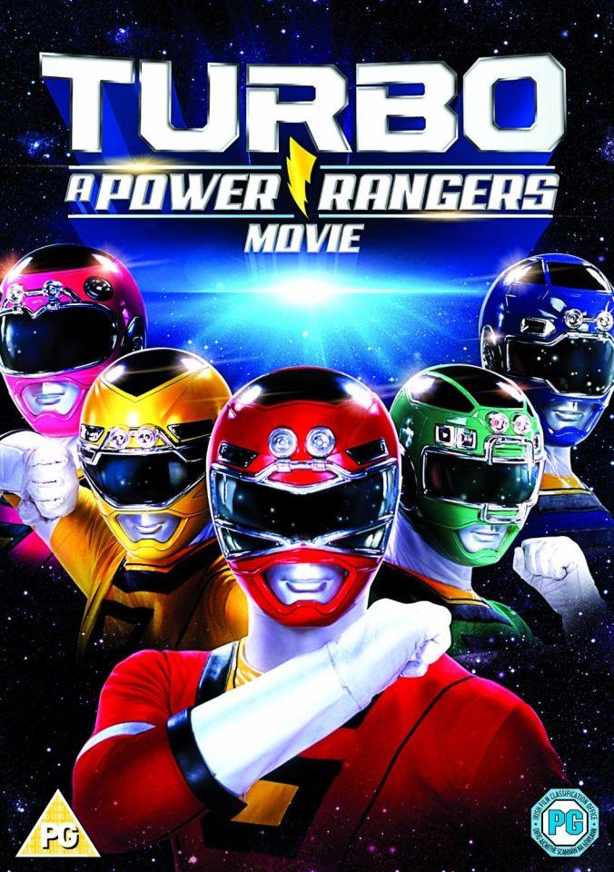 Turbo Power Rangers The Movie Dvd Zavvi