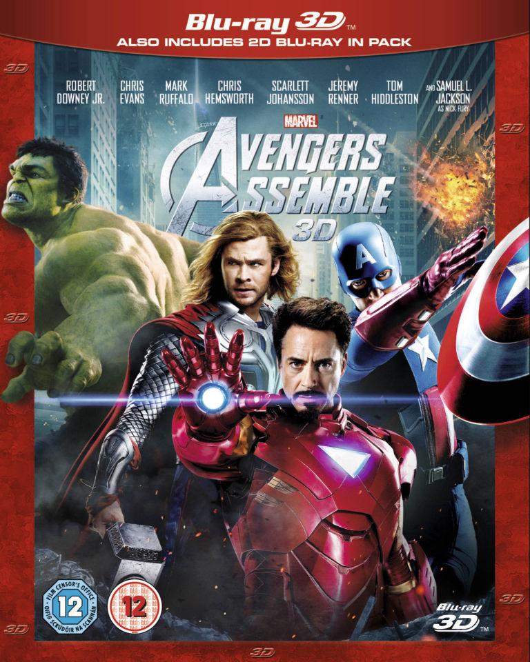 Marvel Avengers Assemble 3D (Includes 2D Version) Blu-ray