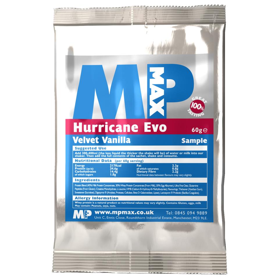 Buy Hurricane Evo Sample Myprotein Com