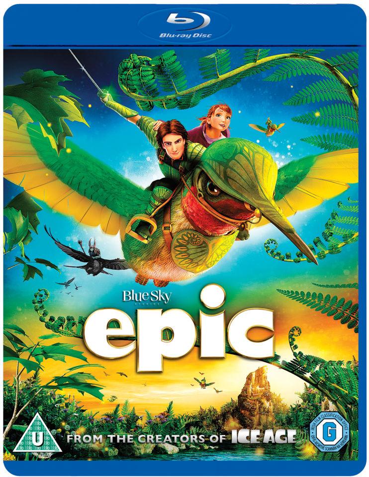 Epic Blu Ray Zavvi