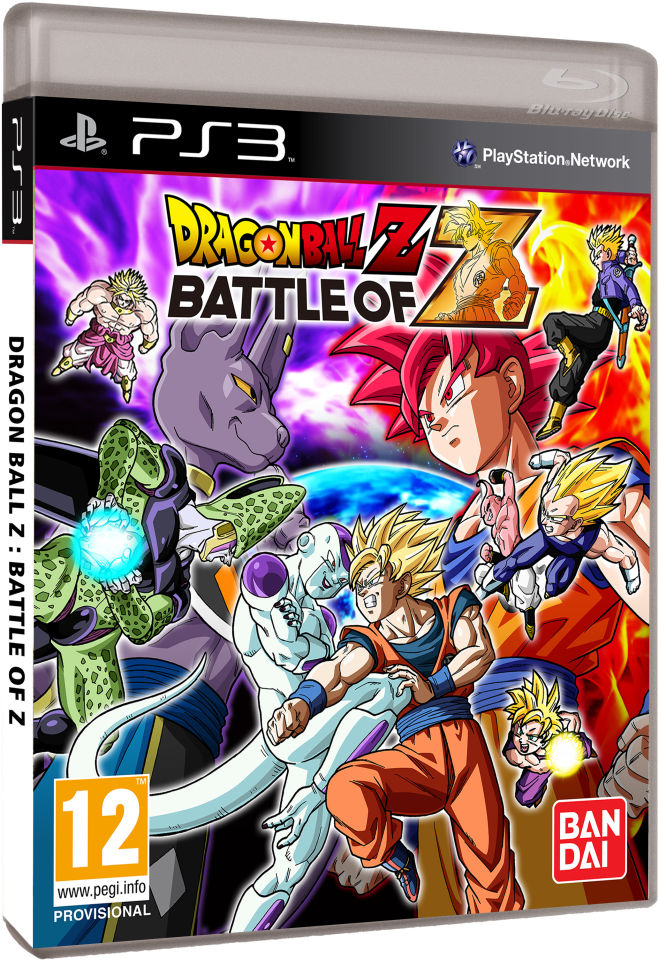 Dragon Ball Games For Ps3 : Dragon ball z battle of ps zavvi