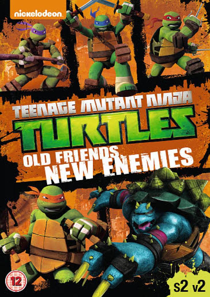 Teenage Mutant Ninja Turtles Season 2 Volume 2 Dvd Zavvi