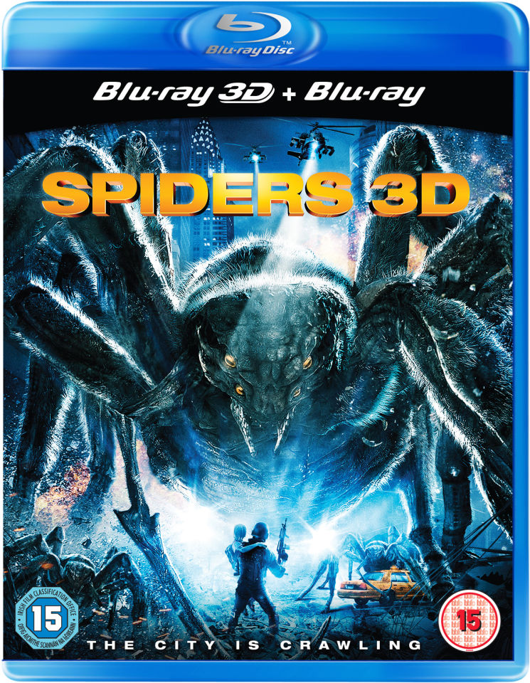 Spiders 3D Blu-ray