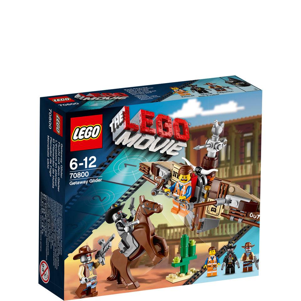 Lego Movie Getaway Glider 70800 Toys Zavvi