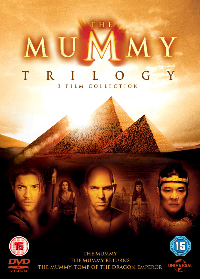 The Mummy Trilogy Includes Ultraviolet Copy Dvd Zavvi