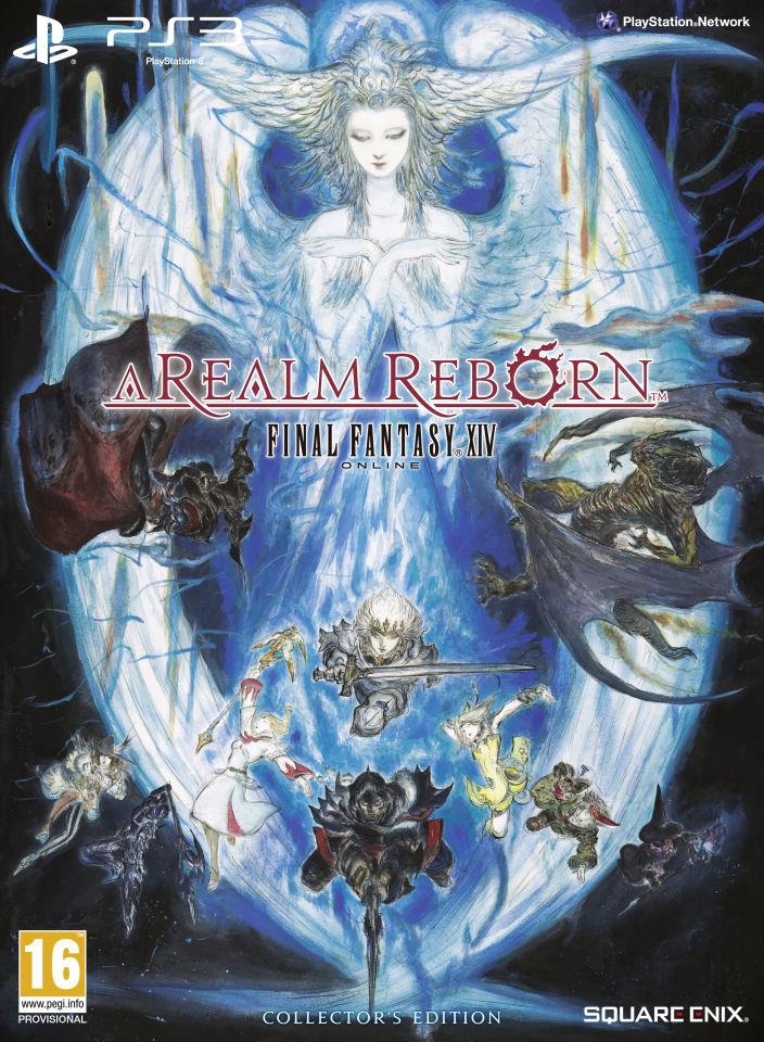 Final Fantasy Xiv A Realm Reborn Collector S Edition