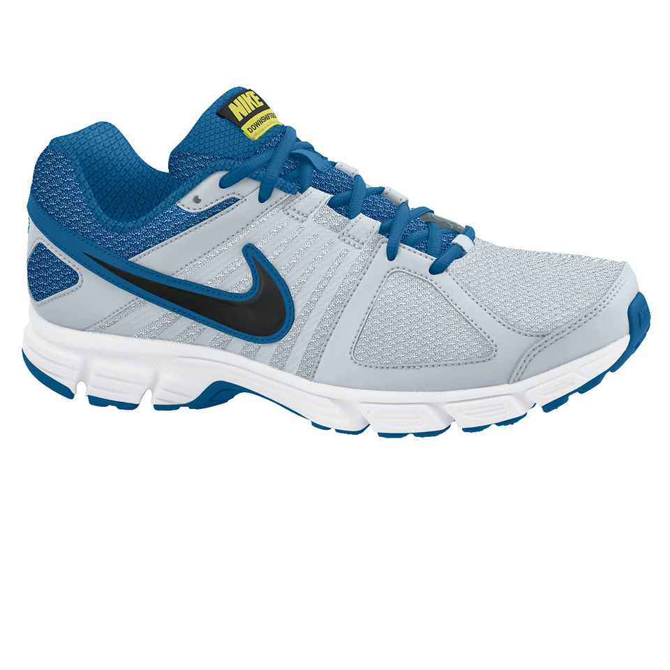 Nike Men s DownShifter 5 Running Shoes - Pure Platinum Sports   Leisure  0ec14d3bf