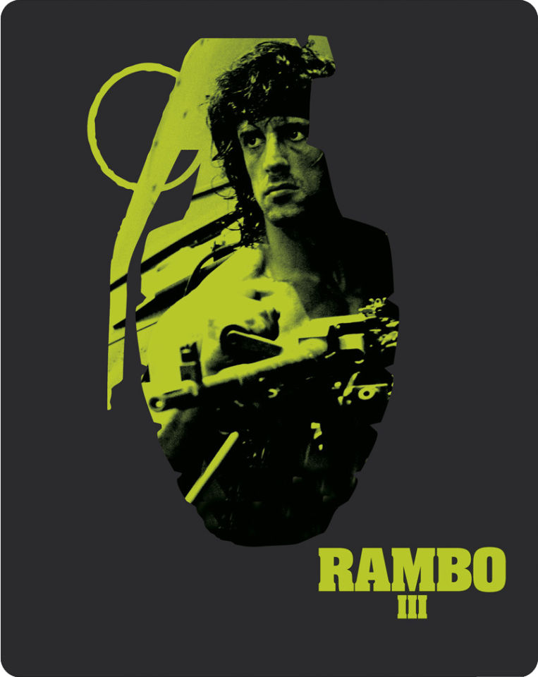 rambo iii zavvi exclusive limited edition steelbook blu