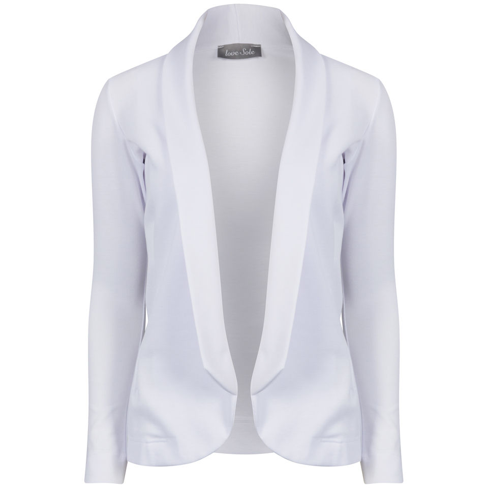 White suit jacket for women