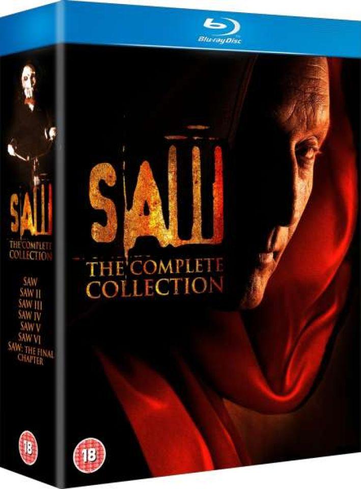 Saw 1 7 Blu Ray Zavvi