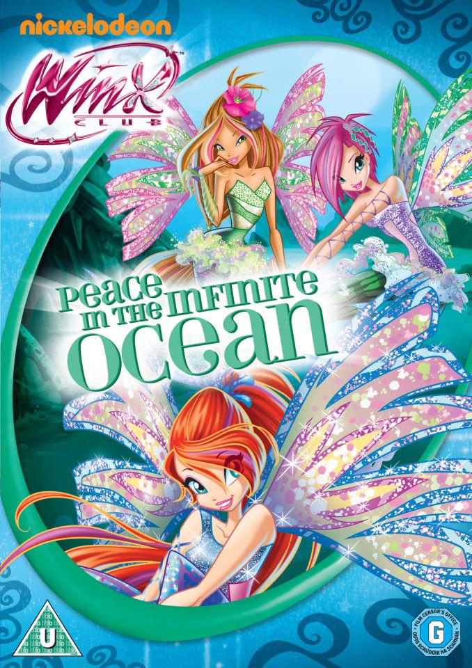 Winx Club: Peace In the Infinite Ocean DVD | Zavvi