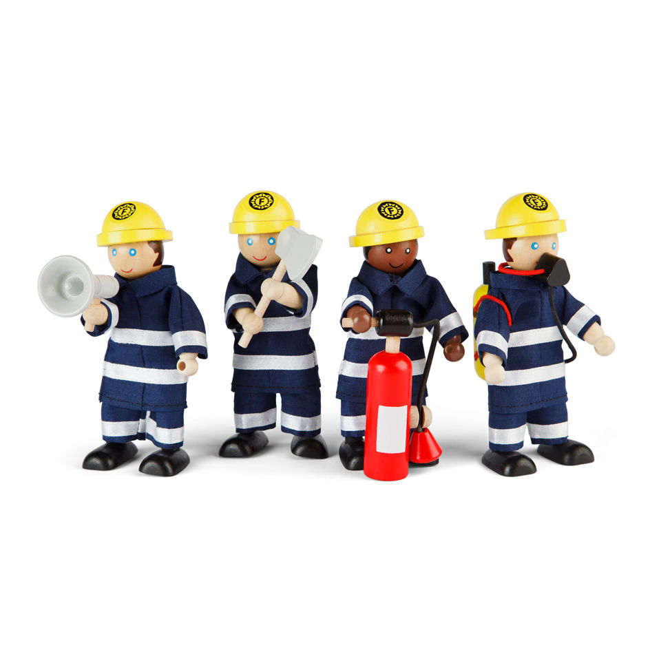 Tidlo Small World John Crane Firefighters Set Toys