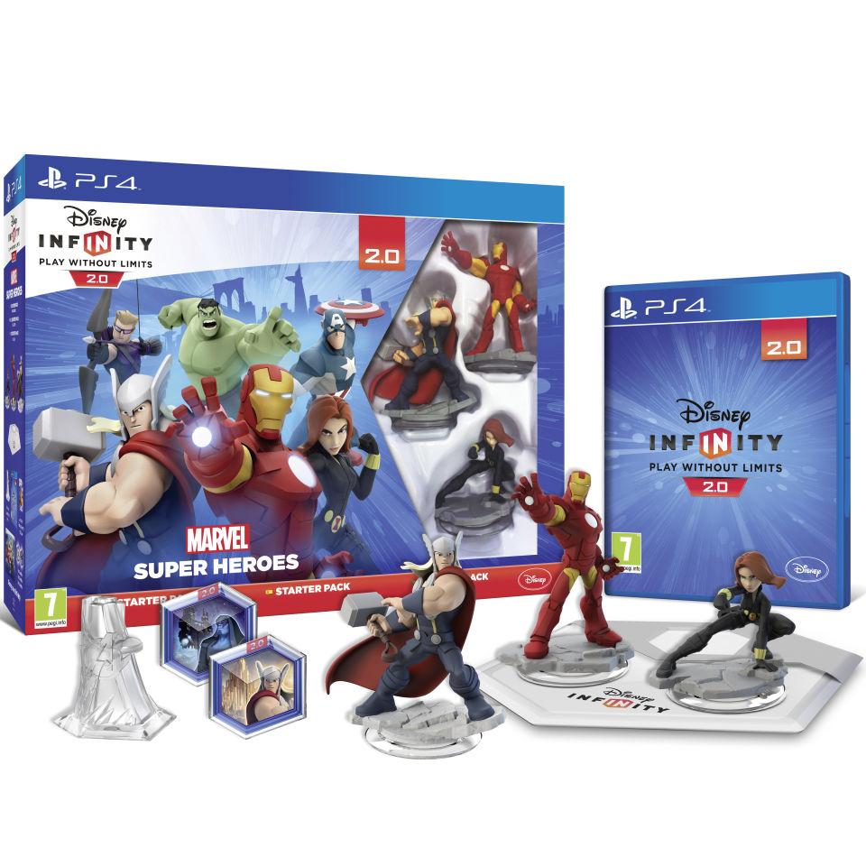 Disney Games For Ps4 : Disney infinity marvel super heroes starter pack ps