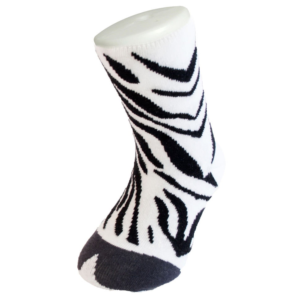 silly socks kinder zebra geschenke. Black Bedroom Furniture Sets. Home Design Ideas