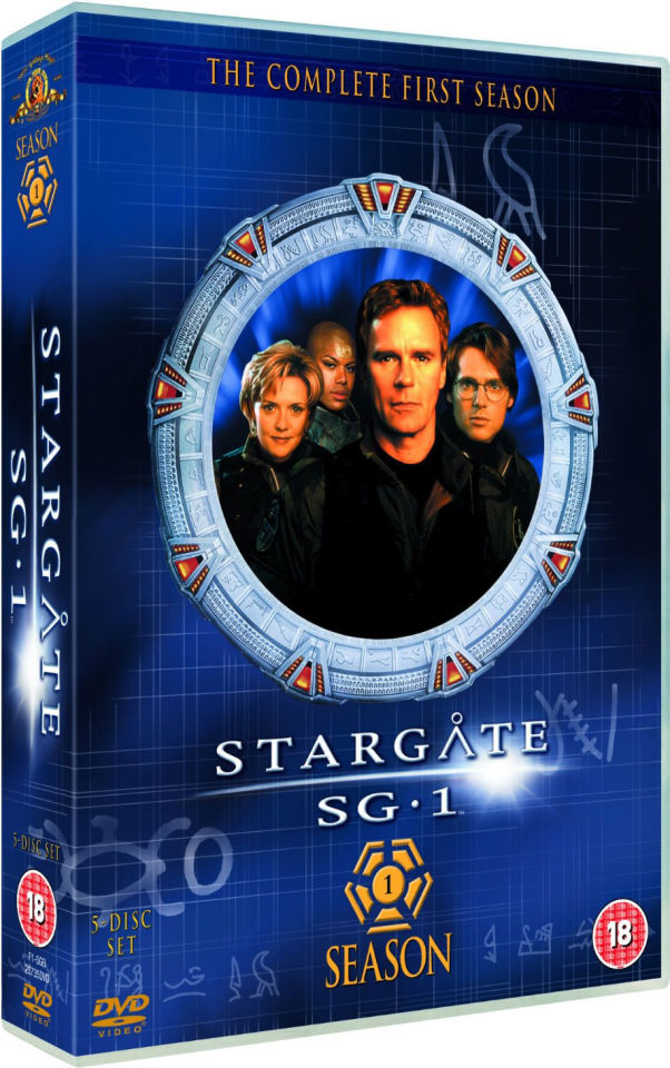 Stargate Sg 1 Season 1 Box Set Dvd Zavvi